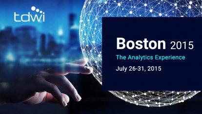 iCEDQ exhibited at TDWI Boston 2015 The Analytics Experience-iCEDQ