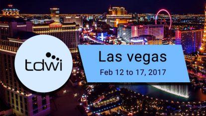 TDWI Las Vegas 2017 Data Insight for the Enterprise-iCEDQ