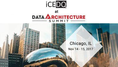 iCEDQ Proud to Sponsor Data Architecture Summit 2017-iCEDQ