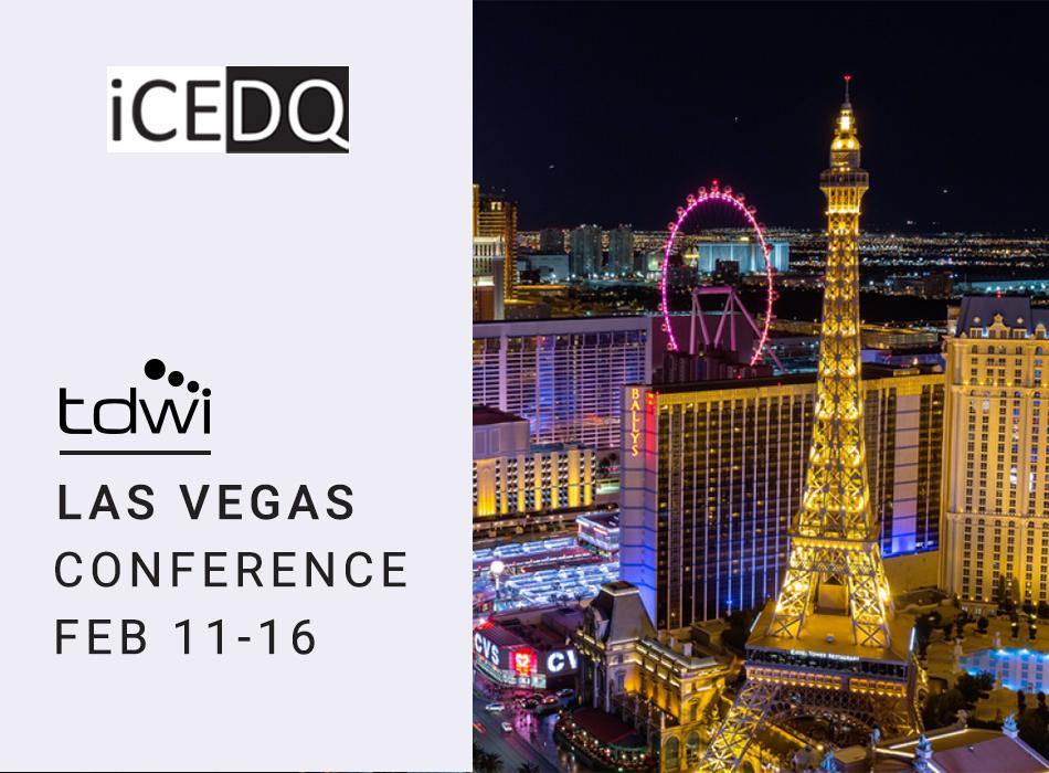 See iCEDQ at TDWI Las Vegas-iCEDQ