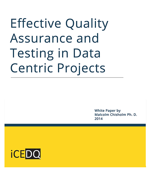 Effective Quality Assurance-iCEDQ
