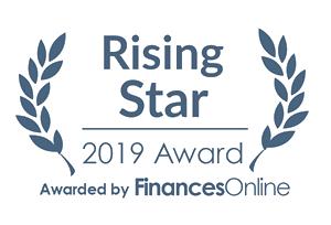 iCEDQ Rising Star Award 2019 by Finances Online