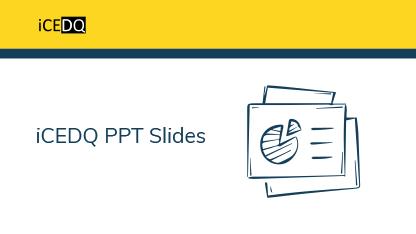 iCEDQ PPT Slides