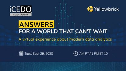 iCEDQ Sponsoring Yellowbrick's Virtual Event for Data & Analytics Leading 2020